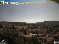view from Armungia on 2019-07-23
