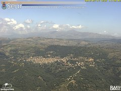view from Monte Lusei Seui on 2018-07-17