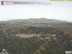 view from Monte Lusei Seui on 2018-07-20