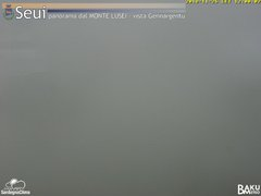 view from Monte Lusei Seui on 2018-11-26