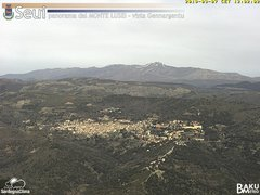 view from Monte Lusei Seui on 2019-03-07