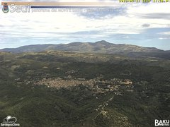 view from Monte Lusei Seui on 2019-05-11