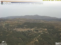view from Monte Lusei Seui on 2019-07-08