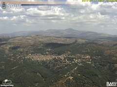 view from Monte Lusei Seui on 2019-07-11