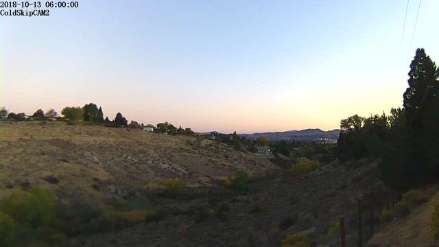 time-lapse frame, Rosewood webcam
