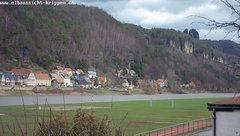 view from Webcam in Bad Schandau Sächsische Schweiz on 2019-03-09