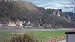 view from Webcam in Bad Schandau Sächsische Schweiz on 2019-03-13