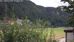 view from Webcam in Bad Schandau Sächsische Schweiz on 2019-08-13