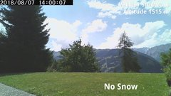 view from Verbier Snowcam2 on 2018-08-07