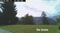 view from Verbier Snowcam2 on 2018-08-11