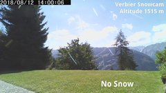 view from Verbier Snowcam2 on 2018-08-12