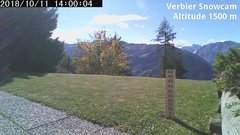 view from Verbier Snowcam2 on 2018-10-11