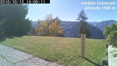 view from Verbier Snowcam2 on 2018-10-13