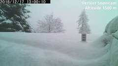 view from Verbier Snowcam2 on 2018-12-17