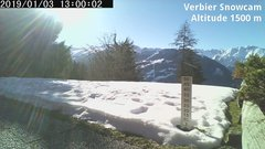 view from Verbier Snowcam2 on 2019-01-03