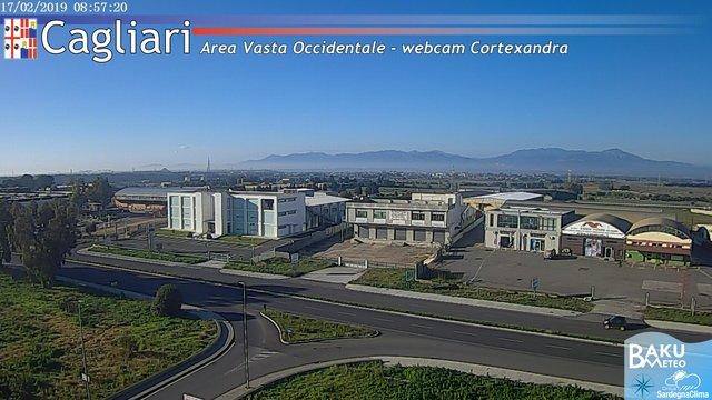 time-lapse frame, Sestu Cortexandra webcam