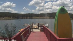 view from Angel Fire Resort - Monte Verde Lake on 2018-07-10
