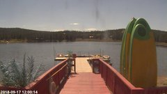 view from Angel Fire Resort - Monte Verde Lake on 2018-09-17