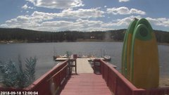 view from Angel Fire Resort - Monte Verde Lake on 2018-09-18