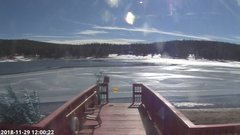 view from Angel Fire Resort - Monte Verde Lake on 2018-11-29