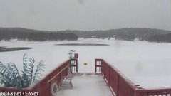 view from Angel Fire Resort - Monte Verde Lake on 2018-12-02