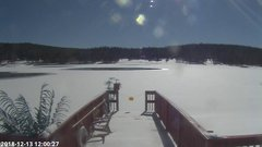 view from Angel Fire Resort - Monte Verde Lake on 2018-12-13