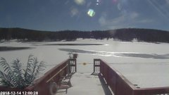 view from Angel Fire Resort - Monte Verde Lake on 2018-12-14