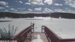 view from Angel Fire Resort - Monte Verde Lake on 2019-02-05