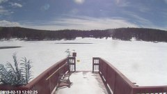 view from Angel Fire Resort - Monte Verde Lake on 2019-02-13