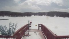 view from Angel Fire Resort - Monte Verde Lake on 2019-02-18