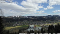 view from CAM-VZHOD-Žirk on 2019-03-20