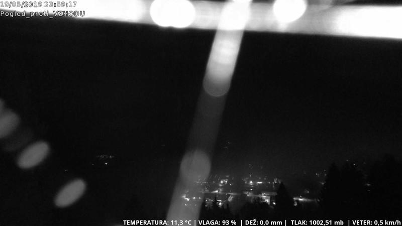 time-lapse frame, CAM-VZHOD-Žirk webcam
