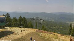view from Angel Fire West View on 2018-08-02