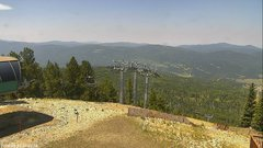view from Angel Fire West View on 2018-08-13