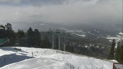 view from Angel Fire West View on 2019-02-18