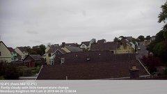 view from Wembury, Devon. Knighton Hill Cam on 2019-04-29