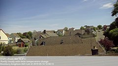 view from Wembury, Devon. Knighton Hill Cam on 2019-05-14