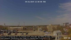 view from University Place Apartments - West Weather on 2019-04-16