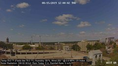 view from University Place Apartments - West Weather on 2019-08-15