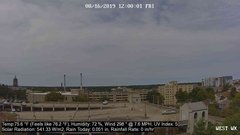 view from University Place Apartments - West Weather on 2019-08-16