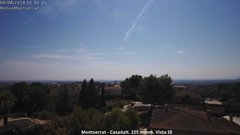 view from Montserrat - Casadalt (Valencia - Spain) on 2018-08-04