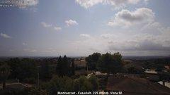view from Montserrat - Casadalt (Valencia - Spain) on 2018-08-11