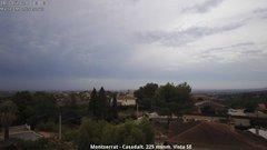 view from Montserrat - Casadalt (Valencia - Spain) on 2018-08-16