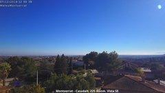 view from Montserrat - Casadalt (Valencia - Spain) on 2018-12-07