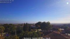 view from Montserrat - Casadalt (Valencia - Spain) on 2018-12-10