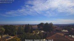 view from Montserrat - Casadalt (Valencia - Spain) on 2019-03-07