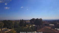 view from Montserrat - Casadalt (Valencia - Spain) on 2019-03-11