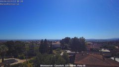 view from Montserrat - Casadalt (Valencia - Spain) on 2019-04-26
