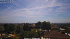 view from Montserrat - Casadalt (Valencia - Spain) on 2019-06-03