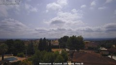 view from Montserrat - Casadalt (Valencia - Spain) on 2019-07-13